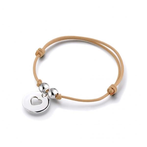 Bracelet Charlotte cœur évidé