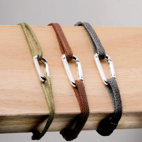Bracelet  mousqueton petit