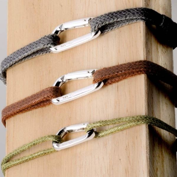 Bracelet Mousqueton moyen