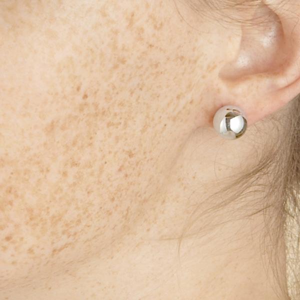 Boucles d'oreilles Sol argent 10mm