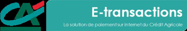 E-transactions Un module de paiement dans un environnement sécurisé pour encaisser les paiements en ligne de votre site e-commerce